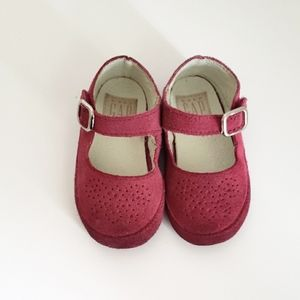 Baby Gap Suede Mary Jane Size 4